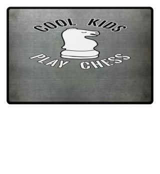 Cool Kids Play Chess Knight Piece