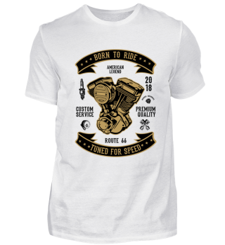 BORN TO RIDE - T-SHIRT #1.2