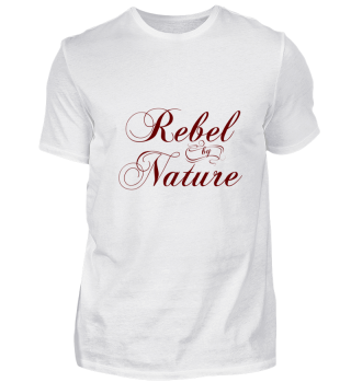 Rebel by Nature red