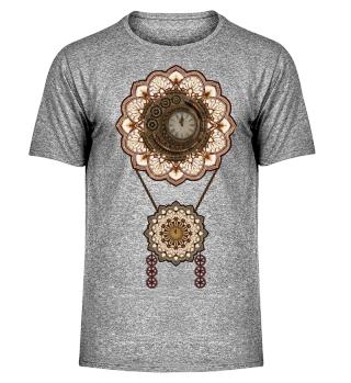 ★ Vintage Steampunk Travel Mandala 3