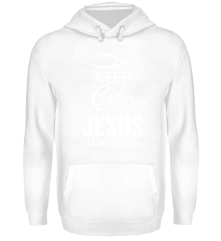 Keep Calm Jesus loves me Christian God