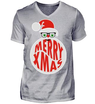 ★ Merry Xmas - Santa Nerd Beard