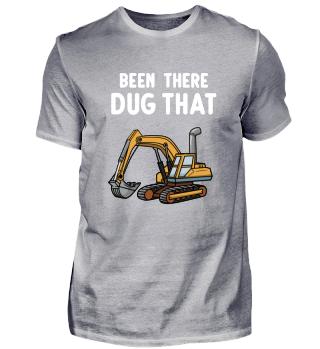 Excavator Shirt kids