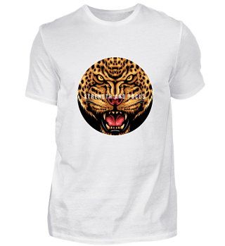 Strength and Focus Leopard Shirt