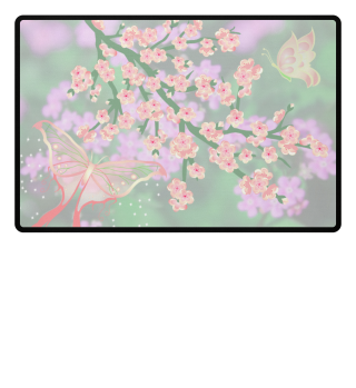 ♥ Cherry Blossom Branch Butterflies 2