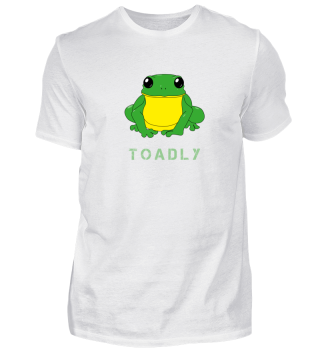 Toadly Funny Toad Frog Amphibian Shirt