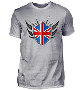Großbritannien Wappen Flagge 013