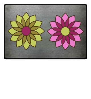 Blossom Flower Doormat Welcome Mat Idea