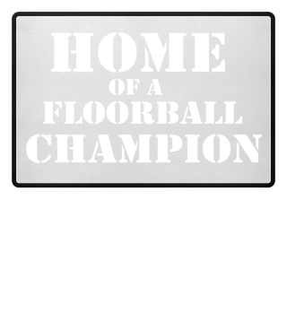 Floorball doormat