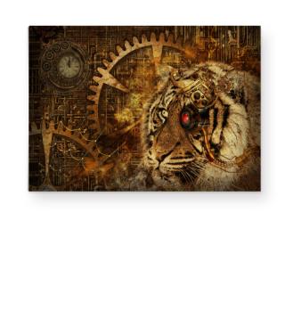 A Tiger World Of STEAMPUNK 1b
