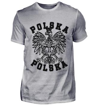 Polnische Flagge T-Shirt Polen Shirt