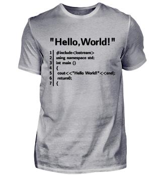 Hello Welt Programm - Programmierer