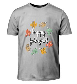 Happy Fall Y'All (Kids)