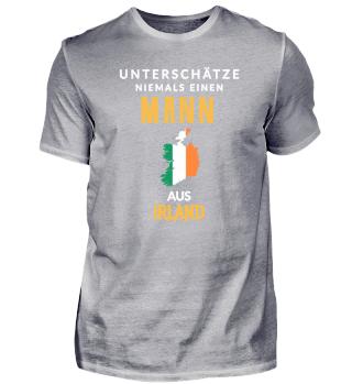 Niemals unterschätzen: Mann aus Irland!