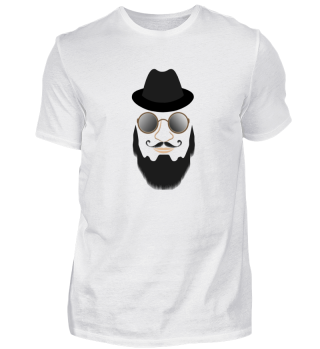 Mr serious shirt tee beard lovers