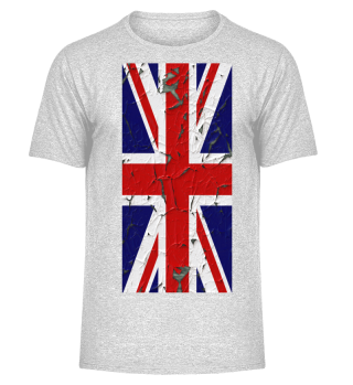 United Kingdom grunge Flag vertical IV