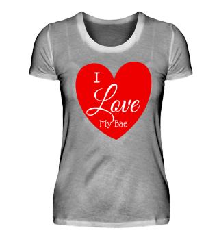 Love My Bae Pärchenshirt