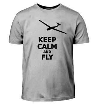 keep calm and fly