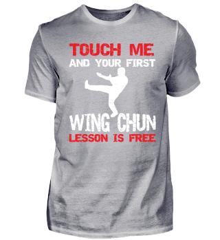 Funny Martial Arts Wing Chun Shirt Gift