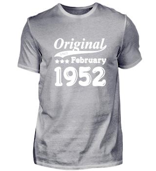 Original Since February 1952