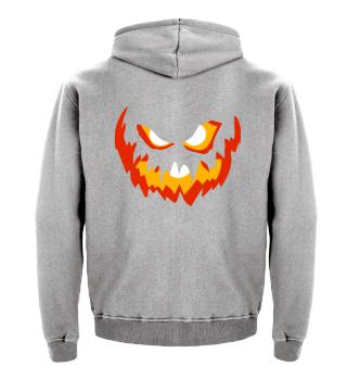 Halloweenfratze - Kinderhoodie