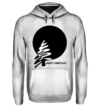 Merry Christmas - stylish black white