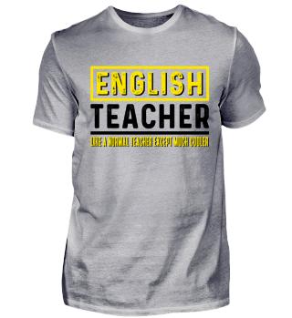 Geschenk für Englisch Lehrer