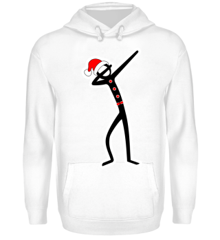 ★ Christmas Dabbing Stick Figure I