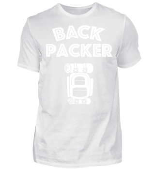 Travel Shirt - Backpacker - T-Shirt