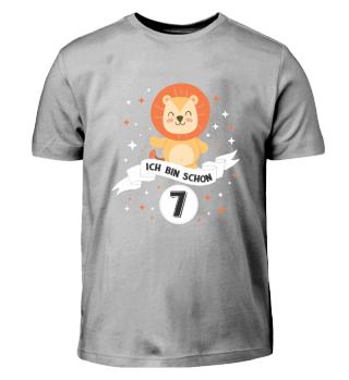 Geburtstag Shirt f. Kinder 7 Jahre Junge
