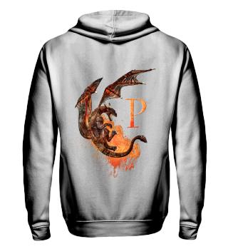 Drachen Buchstabe P