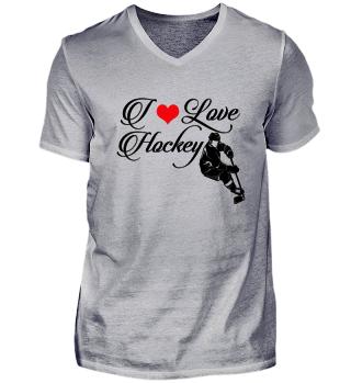 ☛ I LOVE HOCKEY #8SR