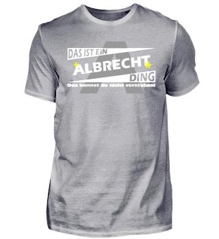 ALBRECHT DING | Namenshirts