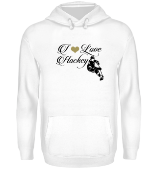 ☛ I LOVE HOCKEY #8SG