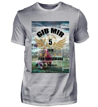 FUSSBALL SHIRT · GIB MIR FÜNF #5.1