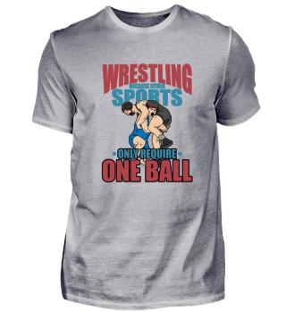 Funny Wrestling Tee