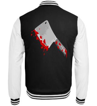 Blutiges Beil Mörder Halloween Horror