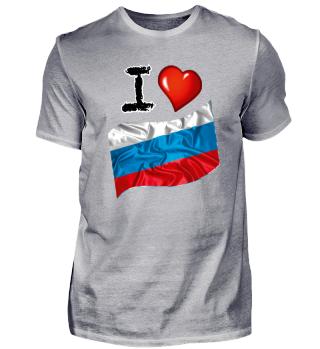 I love Russland
