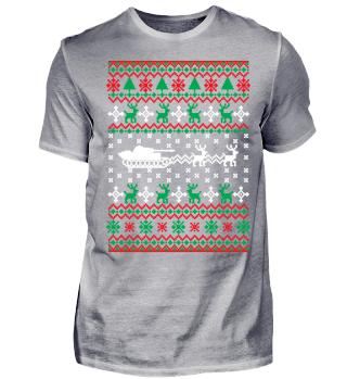 Ugly Christmas Panzer Weihnachten