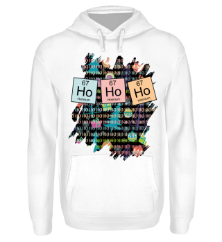 ★ Christmas Chemical Elements HO HO HO 1