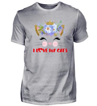 CAT-FACE - I LOVE MY CATS #3.3