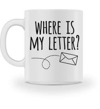 where is my letter