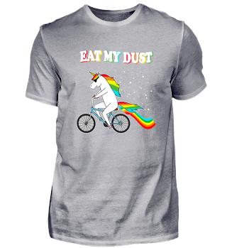 Eat my Dust Einhorn Sonnenbrille Fahrrad