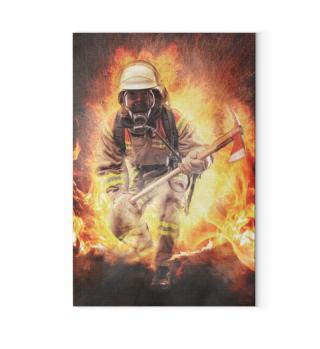 Firefighter - Artprint