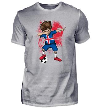ICELAND Soccer Football Boy Dab