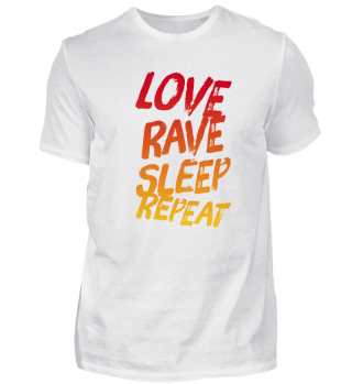 LOVE RAVE SLEEP REPEAT Electro