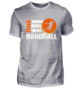 Handball Spieler Mann Shirt Geschenk