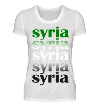 Syria for Ladys