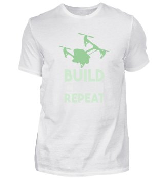 Build Crash Repeat - Drone Aircraft Fly