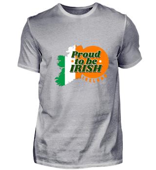Irland Flagge Island Proud Doublin Regen